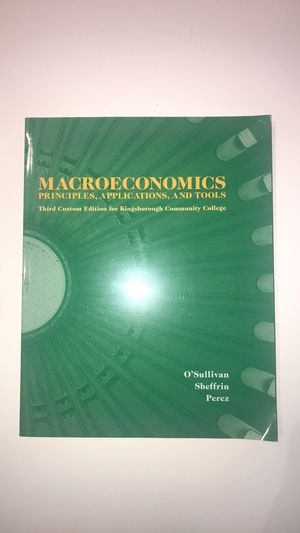 Macroeconomic text book for Sale in Brooklyn, NY