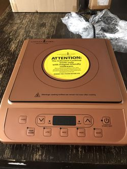 Copper chef induction cooktop for Sale in Ventura,  CA