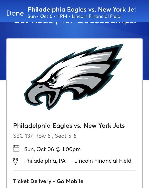 Eagles vs. New York Jets Tickets