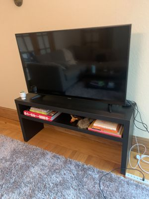 Ikea Lack Console Table/ TV stand Black Brown LIKE NEW for Sale in San Francisco, CA