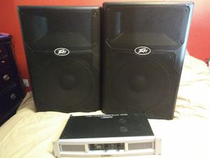 Speakers and amp for Sale in Fort Worth, TX