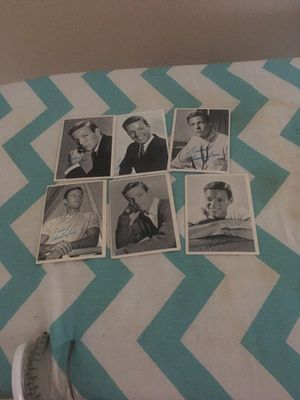 1960's six Dr Kildare trading cards for Sale in Edwardsville, PA