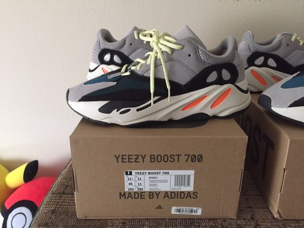 9f835b7fb Adidas Yeezy 700 Wave Runner OG Size 11.5   12 for Sale in Los ...