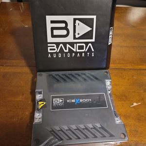 BANDA AUDIO ICE 2000WATTS 1 OHM PERFECT FOR SUBWOOFERS OR CHUCHERO BOXES for Sale in The Bronx, NY