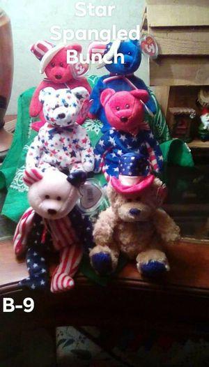 "Ty Beanie Babies ""Patriotic ""Lot of 6 for Sale in Harriman, TN"