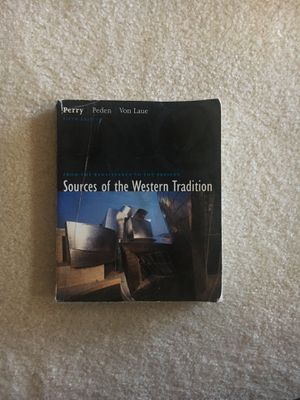 Sources of the Western Tradition for Sale in Naperville, IL