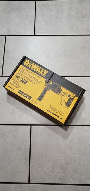 DEWALT 20 VT MAX BRUSHLESS XR SDS PLUS ROTARY HAMMER NEW TOOL ONLY NO BATTERIE for Sale in Long Beach, CA