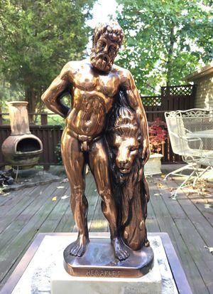 Greek statue herakles for Sale in Kingsville, MD