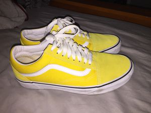 Yellow Old Skool Vans for Sale in Frostproof, FL