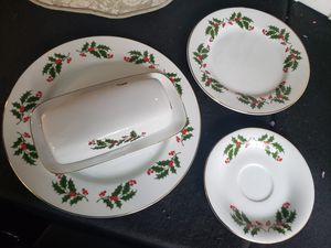 Christmas Dinner and Salad Set for Sale in Snellville, GA