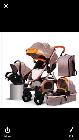 New Baby Stroller 4 in 1 with car seat Luxury Baby Stroller for Sale in Anaheim, CA