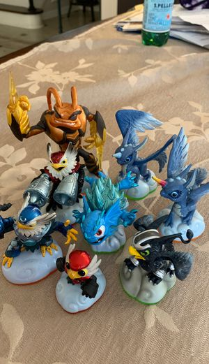 Skylander trap team figures for Sale in Wantagh, NY