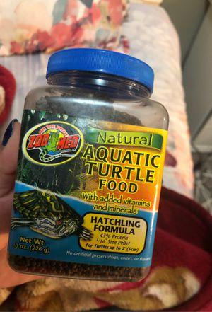 Turtle food hatchling formula for Sale in Los Angeles, CA