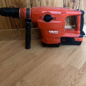 Hilti TE60-A36 Drill With One Battery for Sale in Nashville, TN