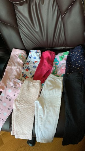 Babygirl leggings from newborn- 6-9 month for Sale in Silver Spring, MD