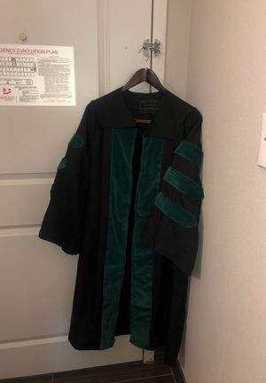 "University of Lynchburg/Lynchburg college Doctorate graduation gown size 5""-5'5""-includes cap and hood for Sale in Lynchburg, VA"