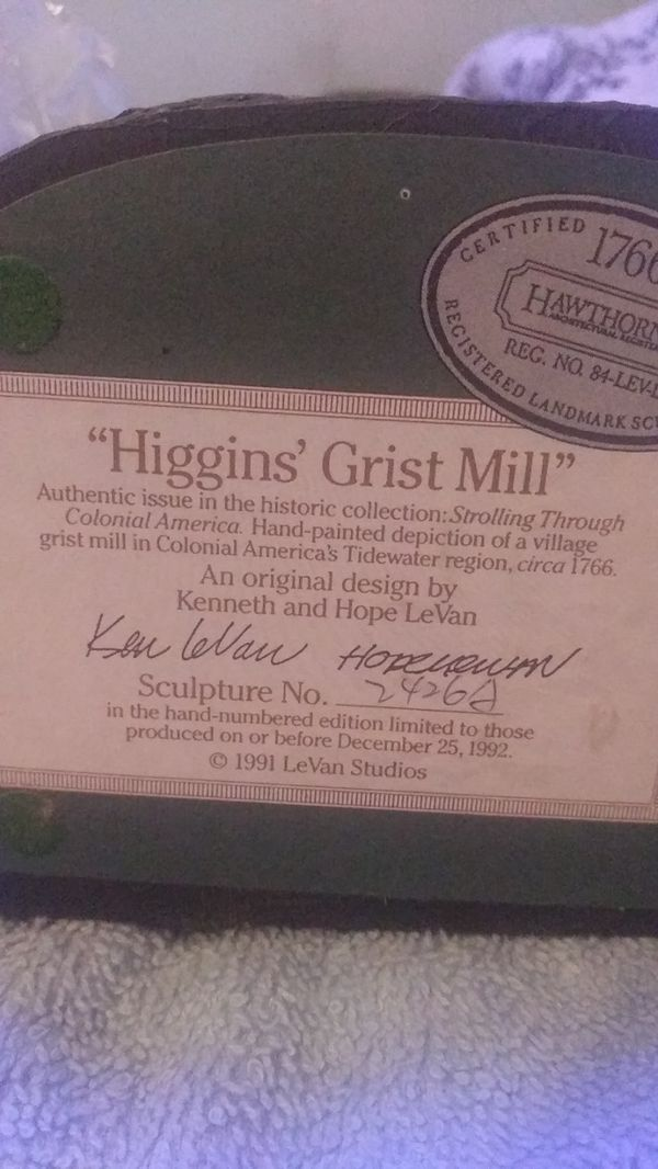 """""""Higgins Grist Mill"""" by Hawthorne architectural"""