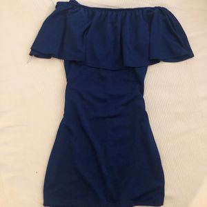 Off the shoulder royal blue Dress for Sale in Ontario, CA