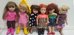 """Dolls 18"""" All Seen For Price for Sale in Henderson, NV"""