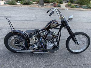Harley Davidson Chopper, Harley Davidson motorcycle, Harley Davidson custom , Harley Davidson panhead for Sale in Glendora, CA