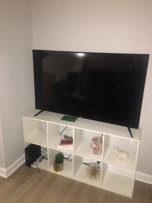 White tv stand or bookshelf for Sale in Fairfax, VA