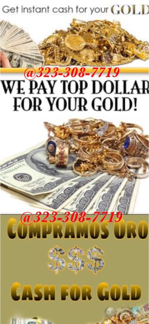 Selling gold oro for Sale in Whittier, CA