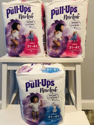 $20 Huggies Pull ups size 3t-4t brand new and pick up Gahanna for Sale in Gahanna, OH