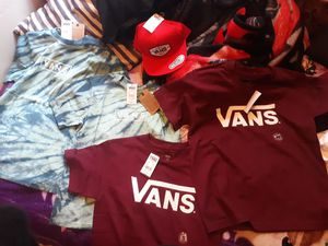 (New) Vans Clothes and Official Backpack for Sale in Chicago, IL