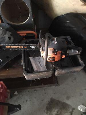 Remington 20 inch chainsaw for Sale in Hamburg, PA