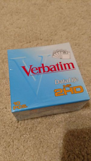 Verbatim 3.5 floppy disks for Sale in Appomattox, VA