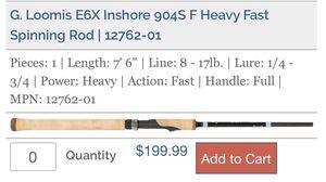G. Loomis E6X Inshore for Sale in San Mateo, CA