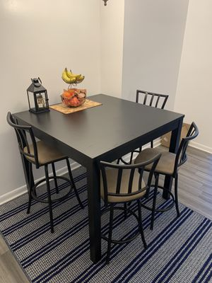 Black Dining Table for Sale in Baltimore, MD