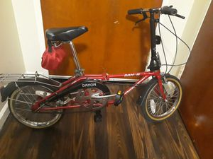 "DAHON 16"" FOLDING BIKE for Sale in Claymont, DE"