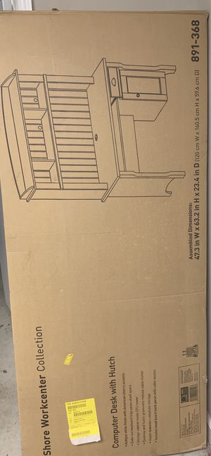desk with hutch new in box for Sale in Conyers, GA