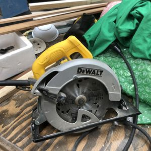 "Dewalt 7 1:4"" for Sale in Federal Way, WA"