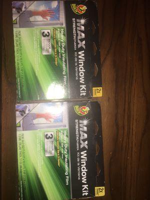 2 window insulation kits for Sale in Davenport, IA