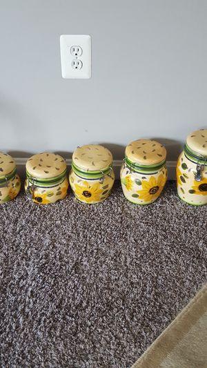 Kitchen jars for Sale in Rockville, MD