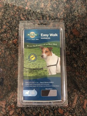 Used Black Small Dog Easy Walk Harness for Sale in San Diego, CA