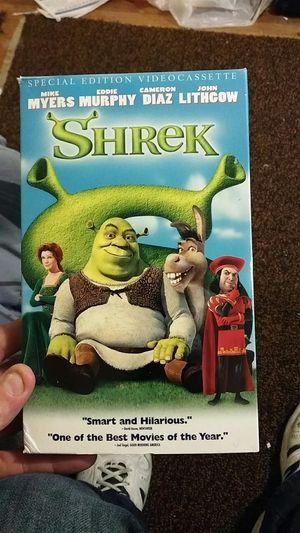 Shrek VHS for Sale in Emmaus, PA