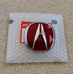 Acura Integra Rear Red Emblem New for Sale in San Diego, CA