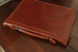 Leather Portfolio from Venice, Italy for Sale in Rancho Cucamonga, CA