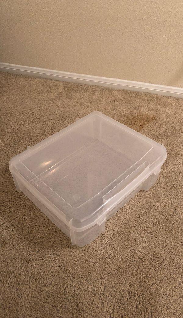 """Iris Plastic Storage Container (18""""x15""""x6"""")"""