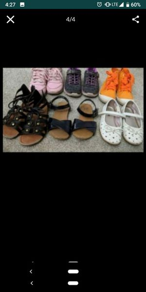 Size 11 girl shoes for Sale in Kenneth City, FL