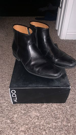 Aldo black leather Chelsea boots for Sale in Las Vegas, NV