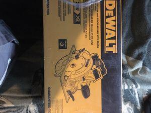 Dewalt 20v 7-1/4 (184mm) circular saw with brake for Sale in Odessa, TX