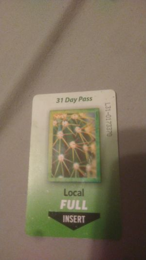 31 day pass for Sale in Phoenix, AZ