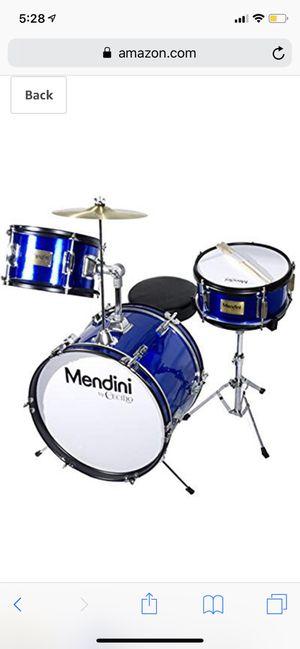 """Mendini junior drum set 16"""" for Sale in Annandale, VA"""