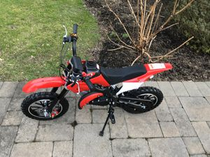 50cc mini dirt bike runs great for Sale in Lloyd Harbor, NY