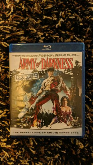 Army of Darkness Blu-ray for Sale in Eau Claire, WI