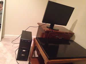 Pc and LG Monitor for Sale in Springfield, VA